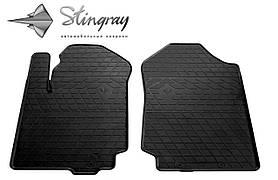 Передние резиновые коврики FORD Ranger 2011- (2 шт) Stingray 1007192