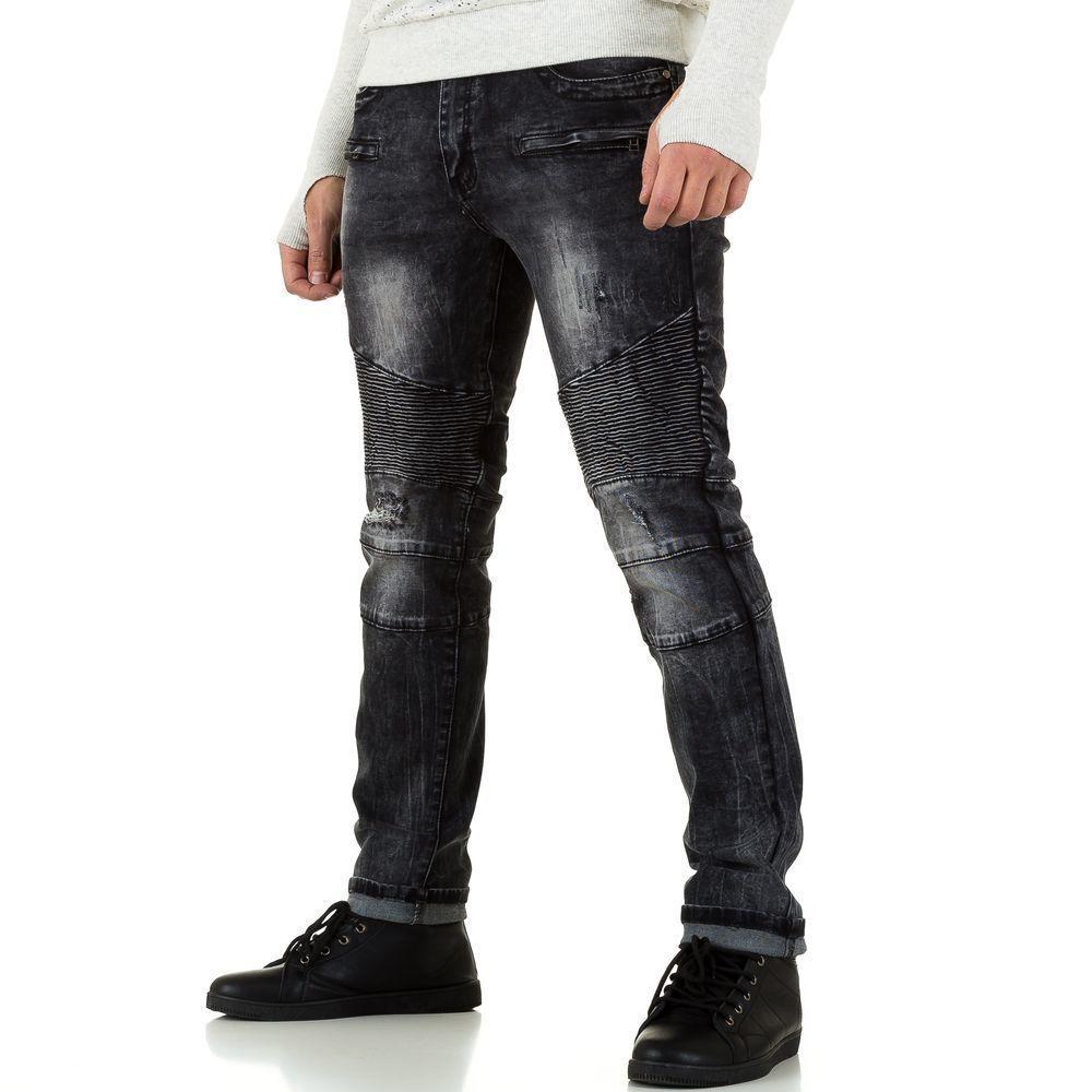 Мужские джинсы от Tfboys Jeans, размер 29 - grey - KL-H-D10-серый 29