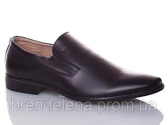 Чоловічі туфлі шкіряні р40-45(код 5971-00)
