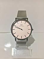 Женские наручные часы Daniel Wellington (Даниэль Веллингтон), серебристо-розовый цвет ( код: IBW185SP )