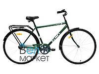 Велосипед АИСТ 28-130 / AIST City classic /Зелеый /Вареная рама / Женский ,дорожный, городской (Толстая рама)