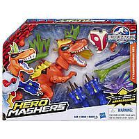 "Разборная фигурка Тираннозавр Рекс ""Мир Юрского Периода"" Tyrannosaurus Rex Hero Mashers Jurassic World B1198, фото 1"