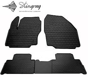 Коврики резиновые в салон Ford S-Max 2007- (4 шт) Stingray 1007244