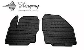 Передние резиновые коврики Ford S-Max 2007- (2 шт) Stingray 1007242