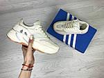 Женские кроссовки Adidas x Yeezy Boost 700 OG (бежевые), фото 4