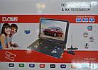 Портативный телевизор двд DVD-LS153T Портативный DVD плеер с цифровым тюнером Т2(18 дюймов), фото 2