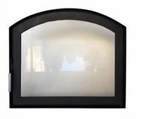 Арочные каминные дверки (индивидуальное изготовление), фото 1