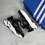 Женские кроссовки Adidas x Yeezy Boost 700 OG (черно-белые), фото 2