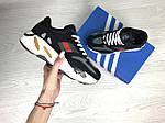 Женские кроссовки Adidas x Yeezy Boost 700 OG (черно-белые), фото 4
