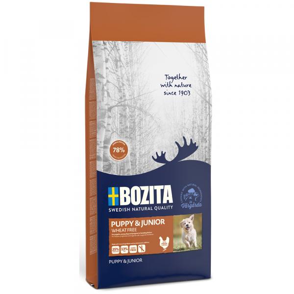 Bozita Naturals Puppy & Junior 12,5 кг