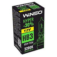 Автолампы Winso 12V HB3 Hyper +30% 65W P20d