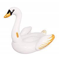 BW Плотик 41120 (3шт) Лебедь, 169-169см, с ручками, ремкомплект, от 3лет, в кор-ке,