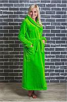 Женские махровые халаты для дома Большого размера