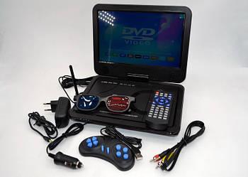 Портативний телевізор DVD-LS104T Портативний DVD з тюнером Т2 (11 дюймів) в машину