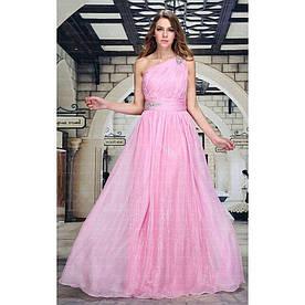 Женское платье от Festamo - Роза - Мкл-F7345-Роза