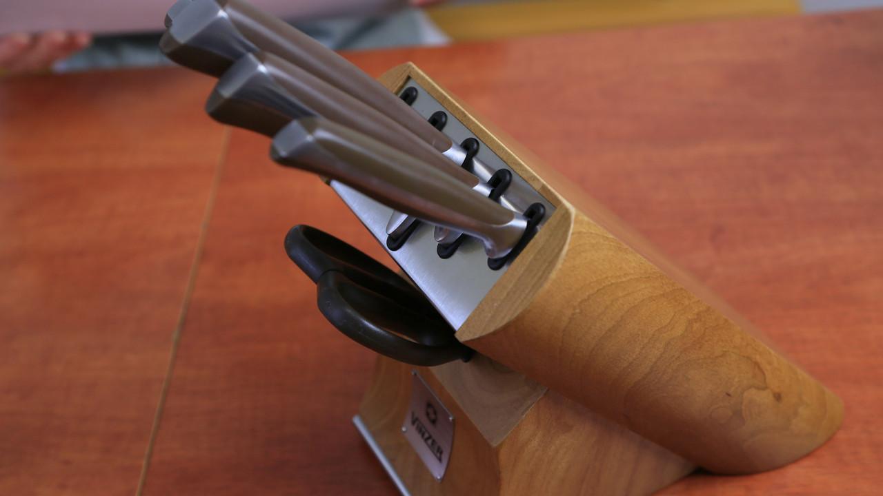 Набор ножей Vinzer Massive 89124 (7 пр)