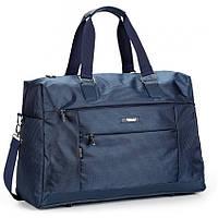 Спортивно дорожная сумка Dolly 792 большая с плечевым ремнем и карманами 51*34*20 см три цвета