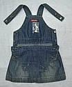 Детский летний джинсовый сарафан (Quadrifoglio, Польша), фото 4