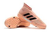 Сороконожки adidas Adidas Predator Tango 18+ TF light pink, фото 3