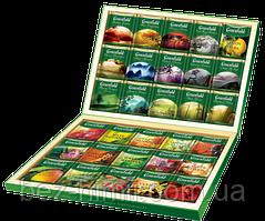 Чай Greenfield Ассорти из 96 отдельных пакетиков (24х вида чая). Подарочный премиум вариант.