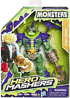 Разборная фигурка конструктор Fish Hook Monsters Hero Mashers Hasbro B7209