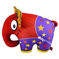 """Антистресова іграшка м`яконабивна """"SOFT TOYS """"Слон"""" померанчовий, DT-ST-01-60 ДАНКО ТОЙС"""
