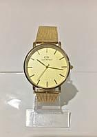 Женские наручные часы Daniel Wellington (Даниэль Веллингтон), золотистый цвет ( код: IBW185Y )