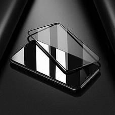 Защитное стекло Hoco для Apple iPhone XS Max Shatter-Proof edges Full Glue Черное, фото 2