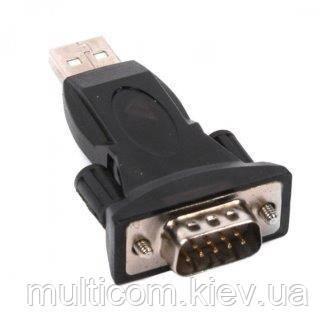 03-02-001. Адаптер USB → COM (RS-232) (штекер USB (A) - штекер СОМ (DB9))