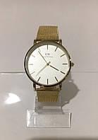 Женские наручные часы Daniel Wellington (Даниэль Веллингтон), золотисто-белый цвет ( код: IBW185YO )