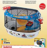 Клетка для хомячков с игрогровым полем FERPLAST STADIUM.
