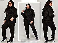 Женский спортивный костюм большого размера, с 54-72 размер