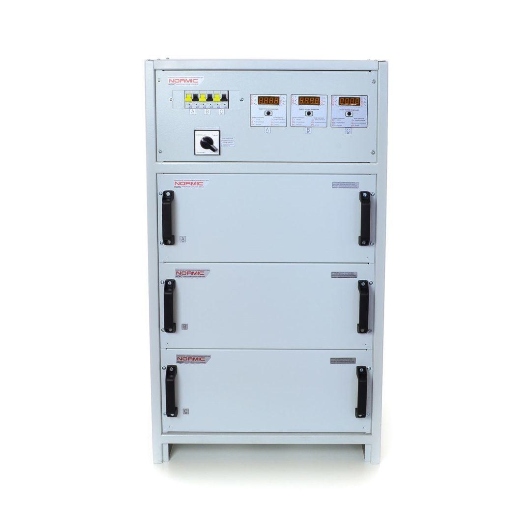 Стабилизатор напряжения трехфазный (РЭТА) серии ННСТ Normic
