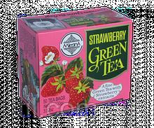 Зеленый чай Клубника  100г (50*2г)