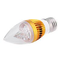 Лампа светодиодная (свеча) E27 4Вт 6400K 220V, фото 1