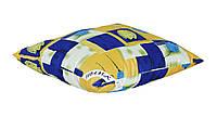 Подушка антиаллергенная для сна 50х50 (поликоттон/холлофайбер) тм УЮТ