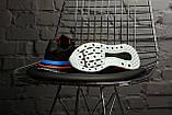 Мужские кроссовки в стиле Adidas ZX 500 RM (black), адидас зх 500 (Реплика ААА), фото 6