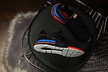 Мужские кроссовки в стиле Adidas ZX 500 RM (black), адидас зх 500 (Реплика ААА), фото 4