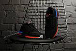 Мужские кроссовки в стиле Adidas ZX 500 RM (black), адидас зх 500 (Реплика ААА), фото 5
