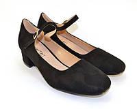 Стильные туфельки с ремешком по доступной цене