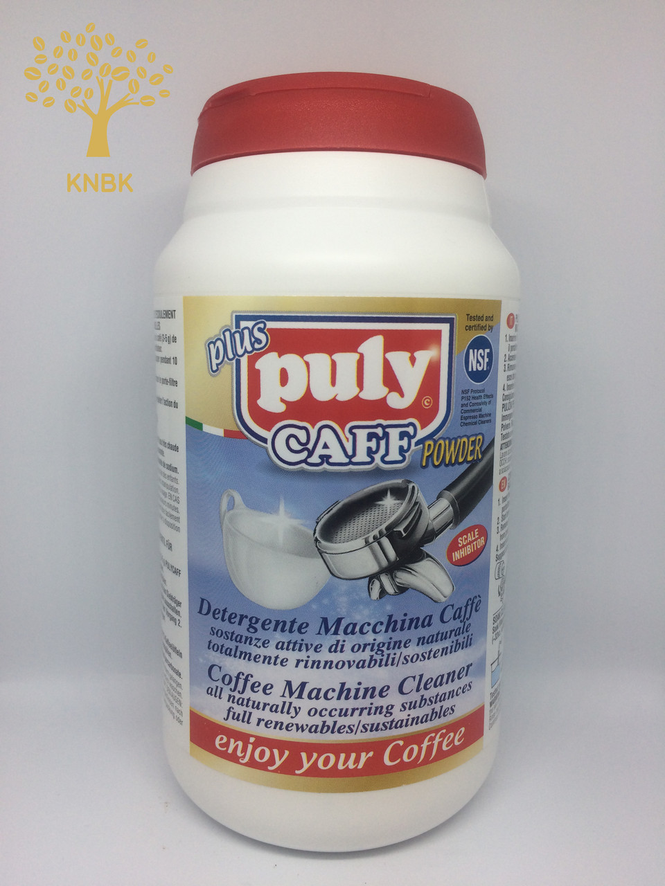 Порошок для чистки групп Пули Кафф плюс (Puly Caff Plus) 570г.