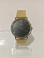 Женские наручные часы Daniel Wellington (Даниэль Веллингтон), золотисто-черный цвет ( код: IBW185YB )