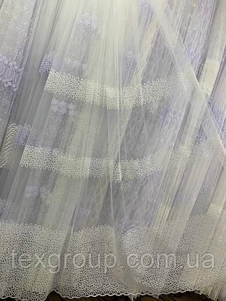 Тюль фатин кремовая , фото 2