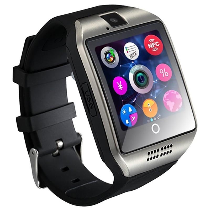 1b58409f Смарт-часы Smart Watch Q18 Серебристые (14-SW-Q18-02) - купить по ...