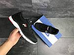 Мужские кроссовки Fila (темно-черно-белые), фото 6