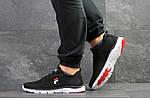 Мужские кроссовки Fila (темно-черно-белые), фото 4