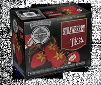 Черный чай Клубника  100г (50*2г), фото 1