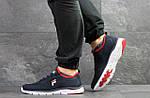Мужские кроссовки Fila (темно-синие с белым), фото 3