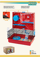 Клетка для хомяка FERPLAST OLIMPIA  клетка.460 x 295 мм x540mm