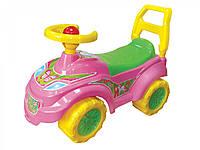 """Детская каталка автомобиль для прогулок """"Принцесса"""", арт.0793"""
